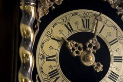 παλαιό ρολόι Στοκ Φωτογραφίες
