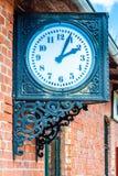 Παλαιό ρολόι staion στοκ φωτογραφίες με δικαίωμα ελεύθερης χρήσης