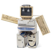 παλαιό ρομπότ στοκ φωτογραφίες