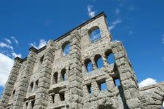 παλαιό ρωμαϊκό θέατρο κατα&s Στοκ φωτογραφίες με δικαίωμα ελεύθερης χρήσης