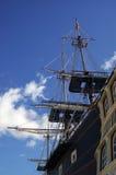 παλαιό σκάφος ιστών Στοκ φωτογραφίες με δικαίωμα ελεύθερης χρήσης