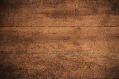 Παλαιό σκοτεινό κατασκευασμένο ξύλινο υπόβαθρο grunge, η επιφάνεια της παλαιάς καφετιάς ξύλινης σύστασης, καφετιά ξύλινη ξυλεπένδ στοκ εικόνες