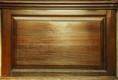 Παλαιό σκοτεινό κατασκευασμένο ξύλινο υπόβαθρο grunge, η επιφάνεια της παλαιάς καφετιάς ξύλινης σύστασης, καφετί ξύλο τοπ άποψης  στοκ φωτογραφία με δικαίωμα ελεύθερης χρήσης