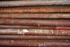 Παλαιό σκουριασμένο γαλβανισμένο υπόβαθρο σχεδίων σύστασης σιδήρου στοκ φωτογραφία