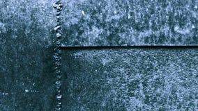 Παλαιό σκουριασμένο μέταλλο φύλλων φιλμ μικρού μήκους