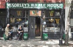 Παλαιό σπίτι αγγλικής μπύρας McSorley ` s Στοκ Εικόνα