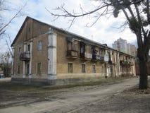 Παλαιό σπίτι στο Κίεβο στοκ εικόνα