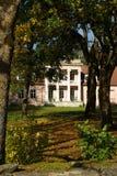 Παλαιό σπίτι φέουδων Στοκ Φωτογραφίες
