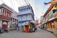 Παλαιό σχέδιο κτηρίων στο Jodhpur Στοκ εικόνες με δικαίωμα ελεύθερης χρήσης