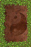 παλαιό σύμβολο εγγράφου ανασκόπησης yang yin Στοκ φωτογραφία με δικαίωμα ελεύθερης χρήσης