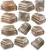 παλαιό σύνολο βιβλίων Στοκ Εικόνες
