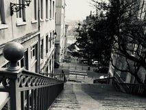 Παλαιό τέταρτο κλιμακοστάσιων Στοκ Φωτογραφία