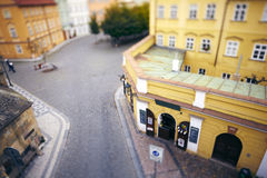 παλαιό τετράγωνο αγοράς τ Στοκ Εικόνες