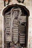 παλαιό τηλέφωνο κιβωτίων στοκ φωτογραφία
