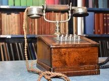 παλαιό τηλέφωνο ξύλινο Στοκ φωτογραφία με δικαίωμα ελεύθερης χρήσης