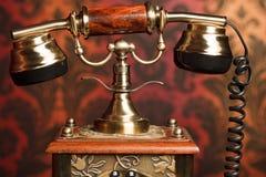 παλαιό τηλέφωνο τεμαχίων Στοκ Εικόνες