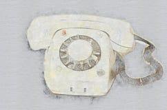 παλαιό τηλέφωνο ελεύθερη απεικόνιση δικαιώματος
