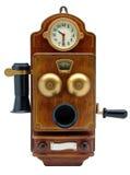 παλαιό τηλεφωνικό λευκό &al Στοκ εικόνα με δικαίωμα ελεύθερης χρήσης