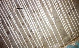 Παλαιό τοίχων στάλαγμα χρωμάτων σύστασης άσπρο στοκ φωτογραφία