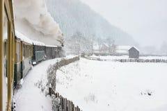 παλαιό τραίνο ατμού Στοκ εικόνες με δικαίωμα ελεύθερης χρήσης