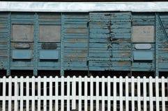 παλαιό τραίνο μεταφορών Στοκ εικόνα με δικαίωμα ελεύθερης χρήσης