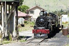 παλαιό τραίνο μηχανών Στοκ Φωτογραφία