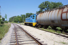παλαιό τραίνο στοκ εικόνες