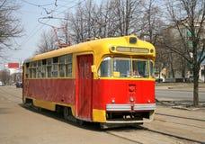 παλαιό τραμ στοκ φωτογραφία