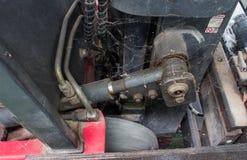 Παλαιό υδραυλικό σύστημα forklift του φορτηγού Στοκ εικόνες με δικαίωμα ελεύθερης χρήσης