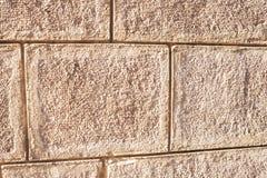 Παλαιό υπόβαθρο τουβλότοιχος, σύσταση Τραχιά πρόσοψη με την επιφάνεια Brickwall Στοκ Εικόνα
