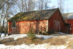 παλαιό υπόστεγο Στοκ Φωτογραφία