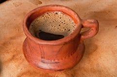 Παλαιό φλιτζάνι του καφέ στοκ εικόνες