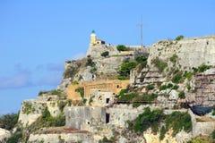 Παλαιό φρούριο σε Kerkira στοκ εικόνα με δικαίωμα ελεύθερης χρήσης