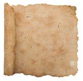 παλαιό φύλλο εγγράφου στοκ εικόνες