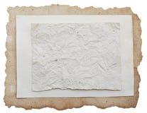 παλαιό φύλλο εγγράφου στοκ εικόνα με δικαίωμα ελεύθερης χρήσης