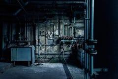 Παλαιό χαμένο abandonend βιομηχανικό εργοστάσιο παραγωγής ηλεκτρικού ρεύματος οικοδόμησης εργοστασίων στοκ εικόνα