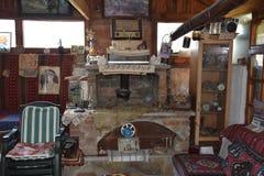 Παλαιό χρονικό farmhouse Στοκ εικόνα με δικαίωμα ελεύθερης χρήσης