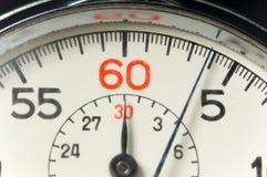 παλαιό χρονόμετρο με δια&kapp στοκ φωτογραφίες