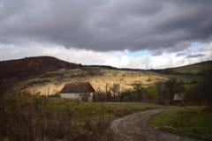 παλαιό χωριό σπιτιών Στοκ εικόνες με δικαίωμα ελεύθερης χρήσης
