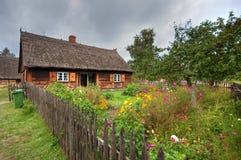 παλαιό χωριό της Πολωνίας στοκ φωτογραφίες