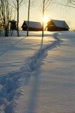 παλαιό χωριό Στοκ Φωτογραφίες