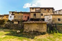 Παλαιό χωριό Hervas - Ισπανία στοκ εικόνες