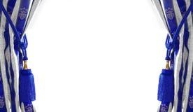 παλαιό ύφος κουρτινών 2 Στοκ εικόνα με δικαίωμα ελεύθερης χρήσης