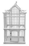 παλαιό birdcage ξύλινο στοκ φωτογραφίες με δικαίωμα ελεύθερης χρήσης
