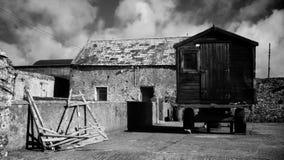 Παλαιό farmhouse Στοκ φωτογραφίες με δικαίωμα ελεύθερης χρήσης