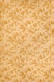 παλαιό floral πρότυπο Στοκ φωτογραφία με δικαίωμα ελεύθερης χρήσης