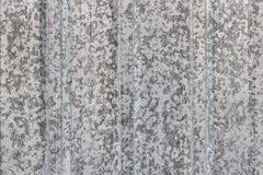 Παλαιό fluted ή ζαρωμένο φύλλο μετάλλων Στοκ Φωτογραφία