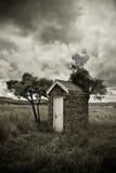 παλαιό outhouse Στοκ Εικόνες