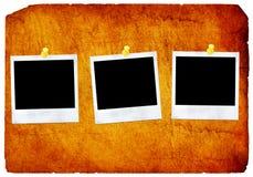 παλαιό polaroid εγγράφου Στοκ φωτογραφίες με δικαίωμα ελεύθερης χρήσης