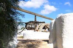 παλαιό pozo της Ανδαλουσίας de frailes Los watermill Στοκ εικόνα με δικαίωμα ελεύθερης χρήσης